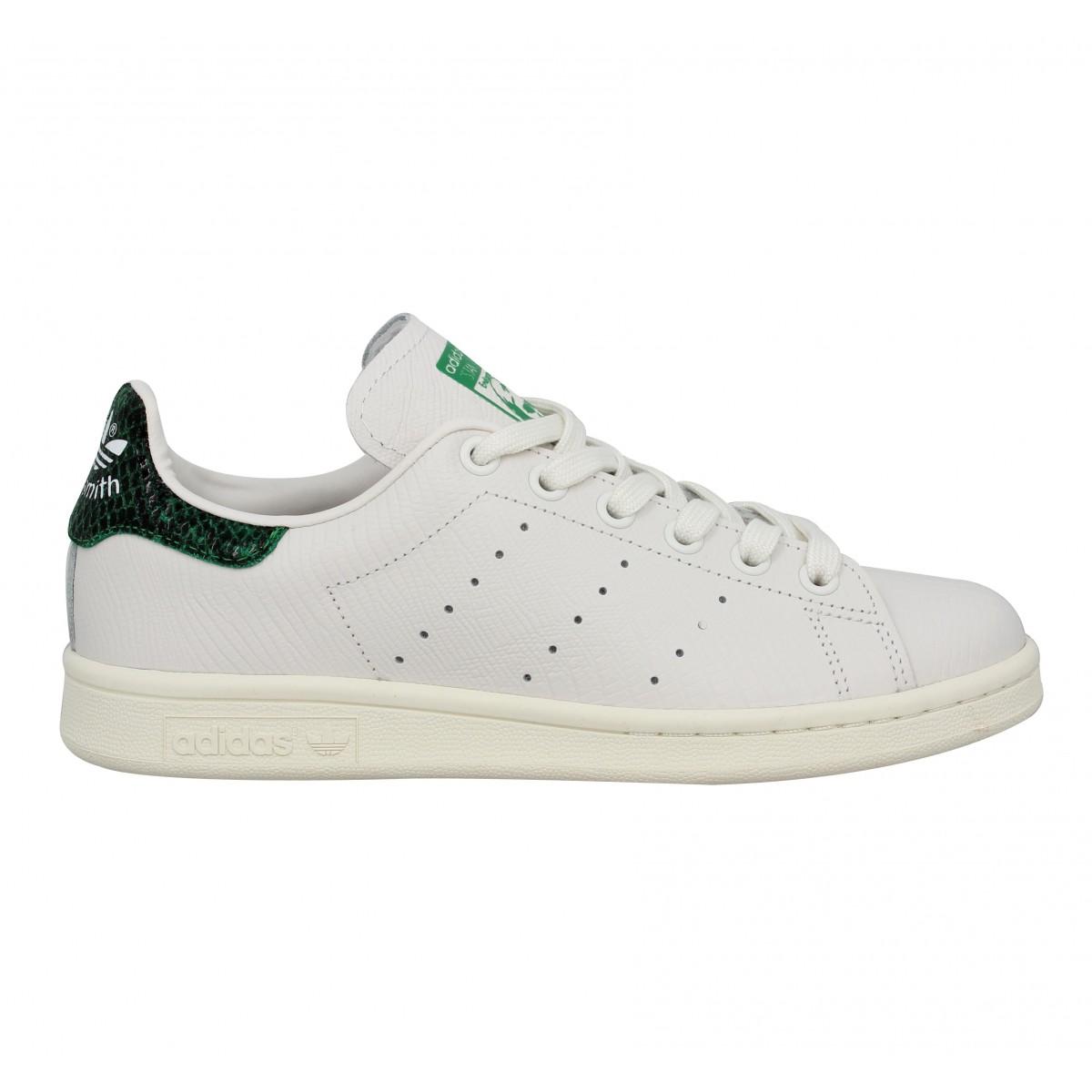 adidas stan smith homme blanc et vert