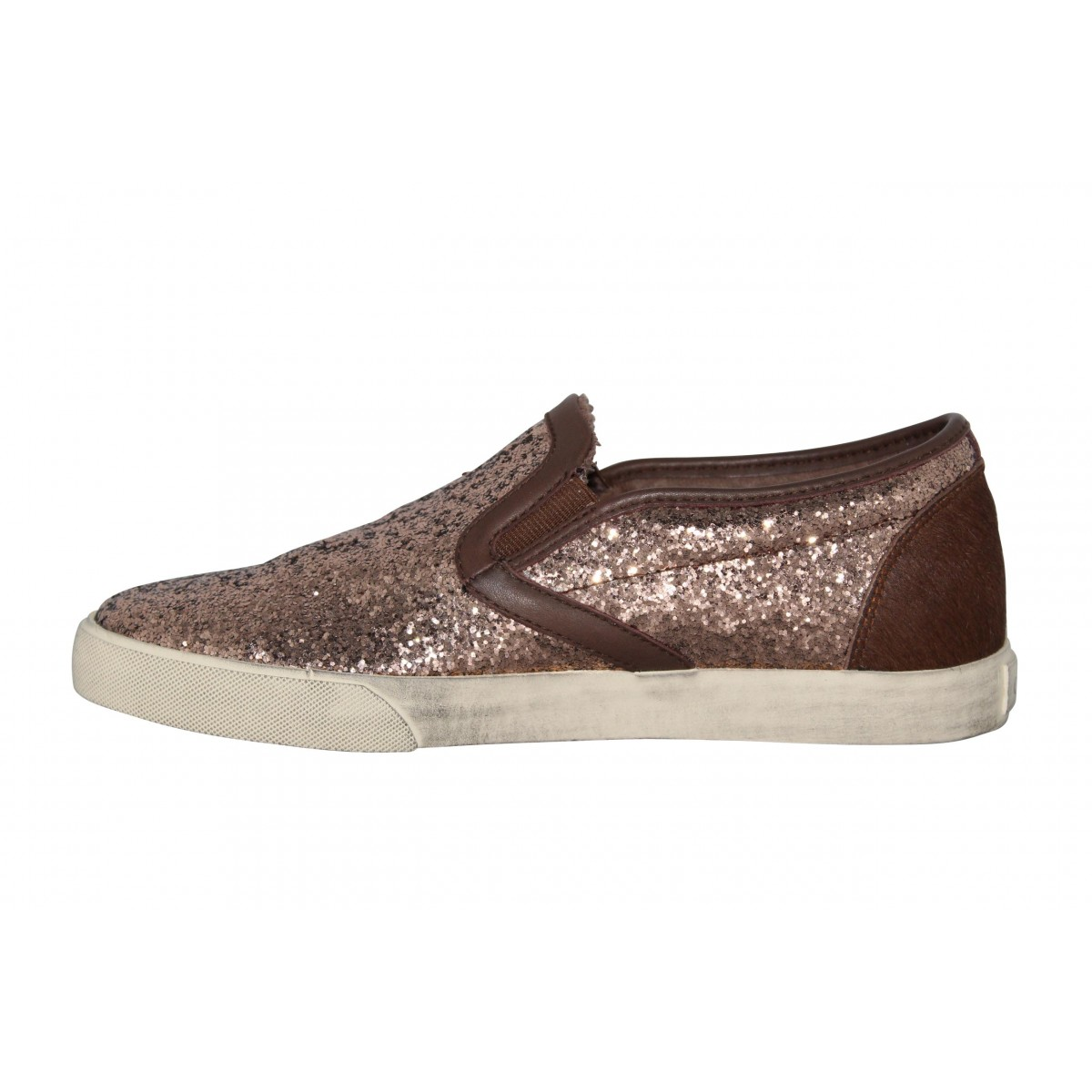 Baskets & Tennis mode 0-105 Revival glitter Femme Marron0-105 SrePhe