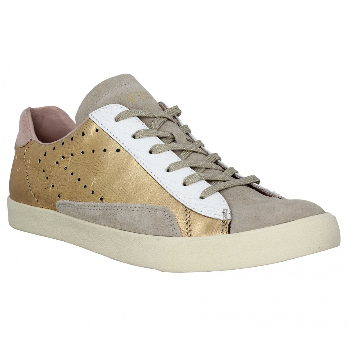 0 105 stan chris cuir femme gold femme   Fanny chaussures 022b132cce2b