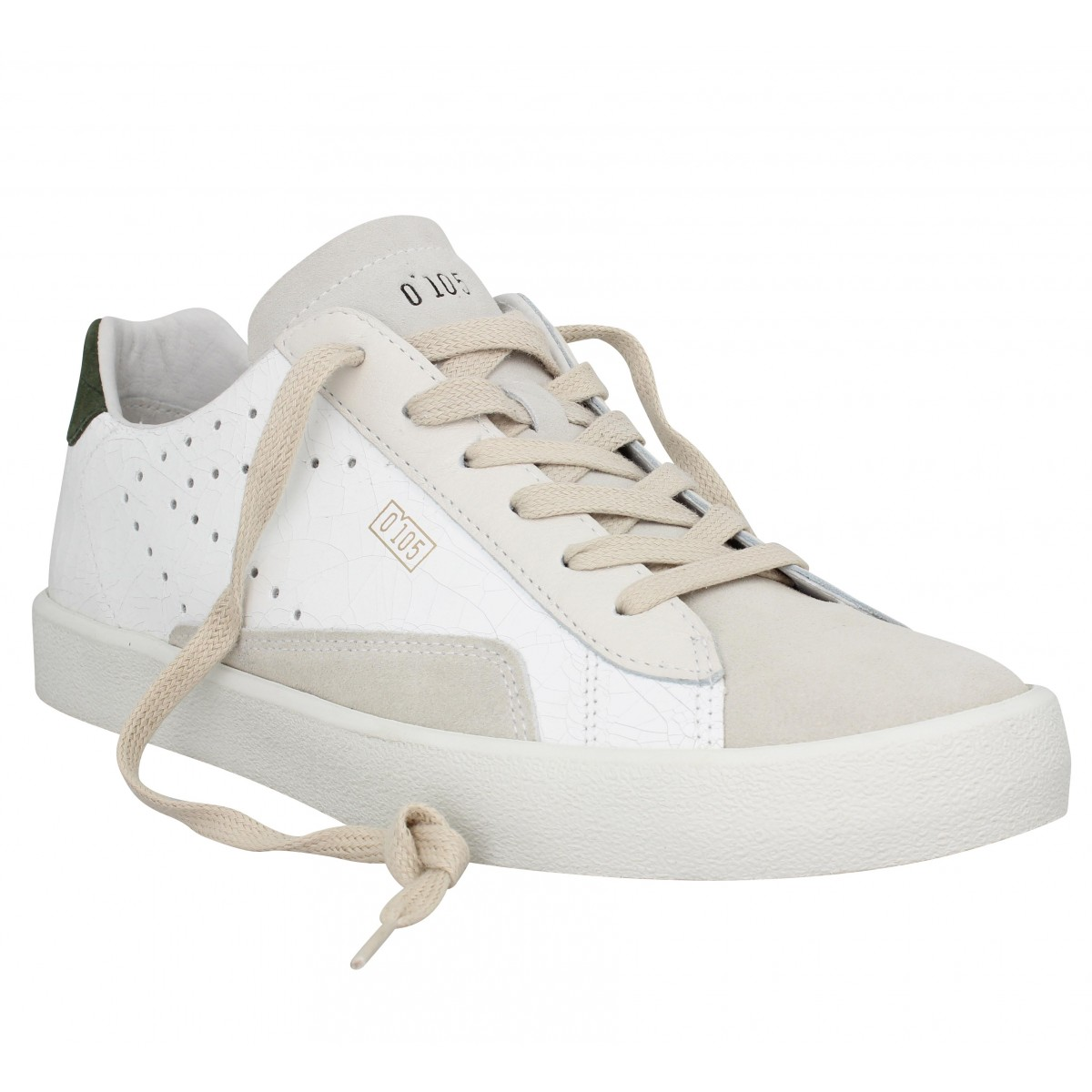 Baskets 0-105 Stan Clay cuir Homme Birch