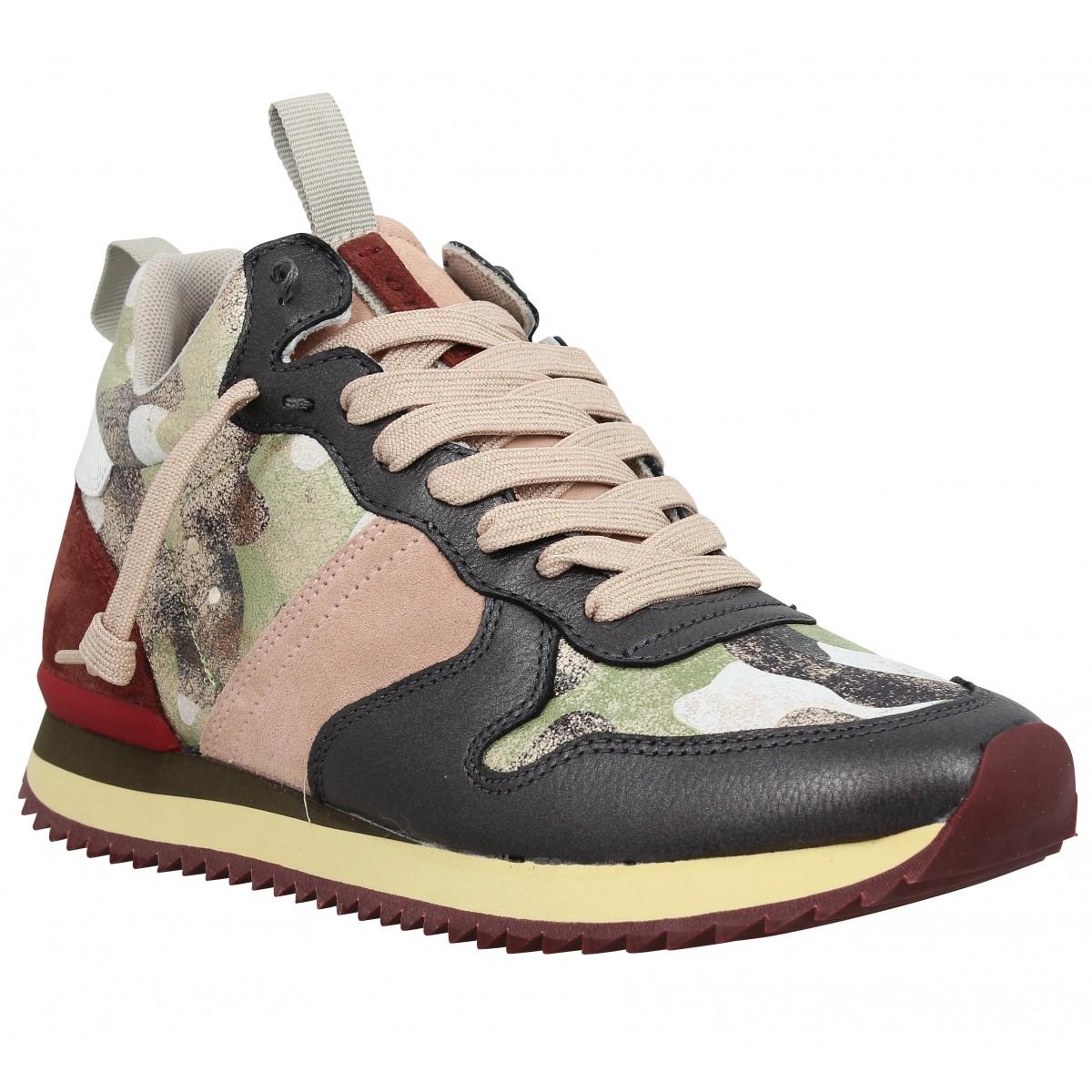 femme street femme chaussures camo Fanny 0 cuir 105 UvRcvpf