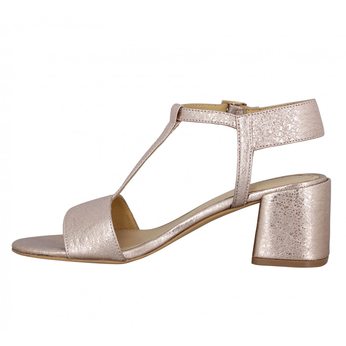 3e0cc893888602 chaussures femme Fanny cuir femme Adele dezotti 110 or HURP0S