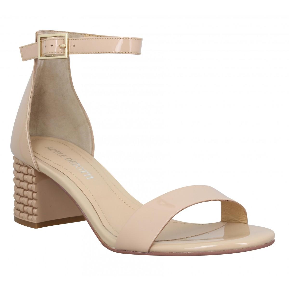 Femme Adele Dezotti 1302 Chaussures NudeFanny Vernis FT1JculK3