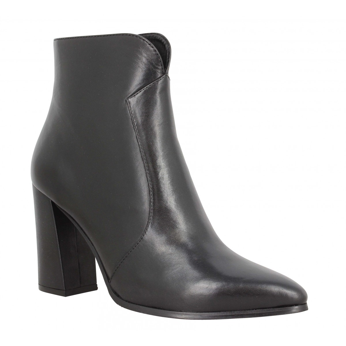 Bottines ADELE DEZOTTI 3602 cuir Femme Noir