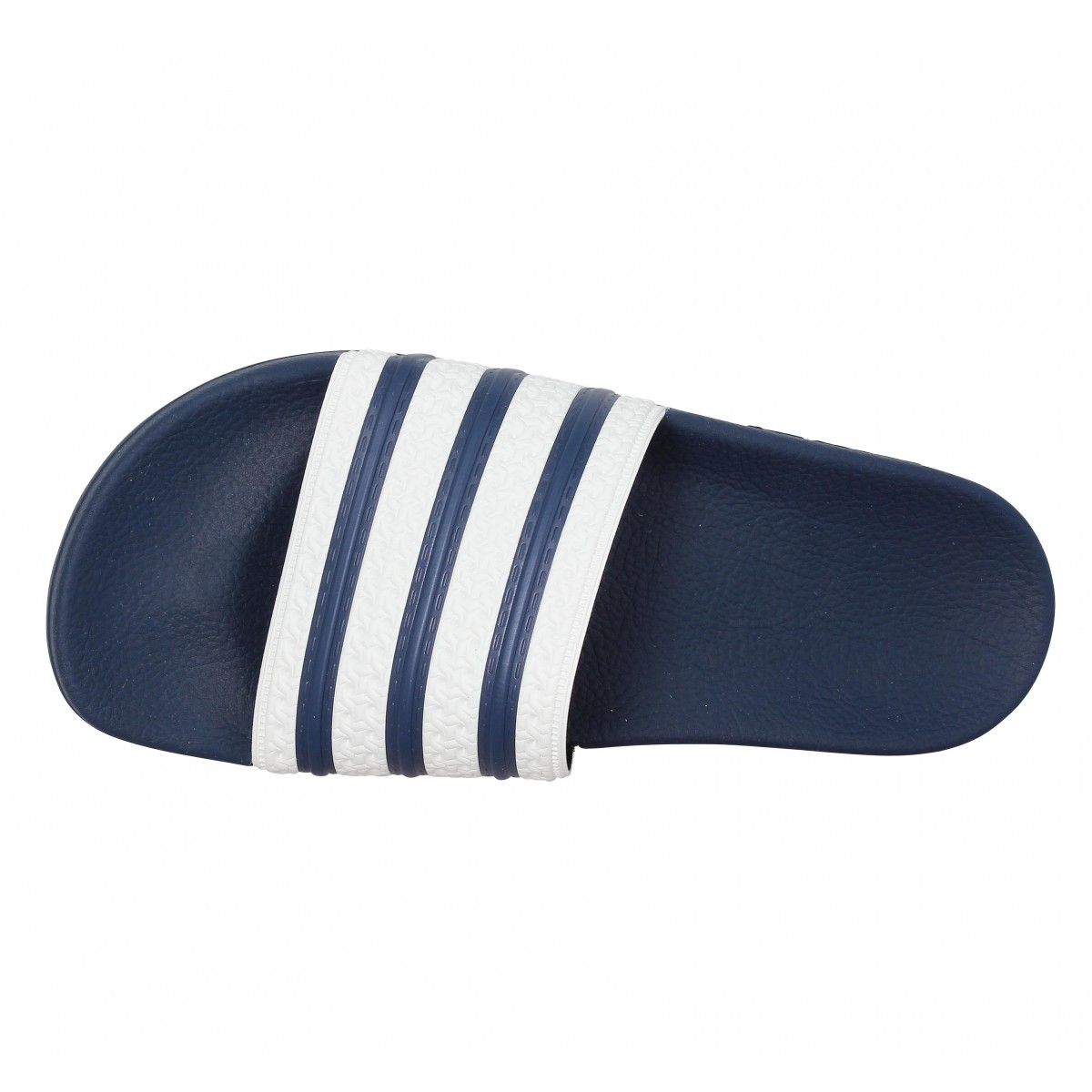 super popular 5fd26 a4e46 Tongs ADIDAS Adilette Homme Bleu. 1