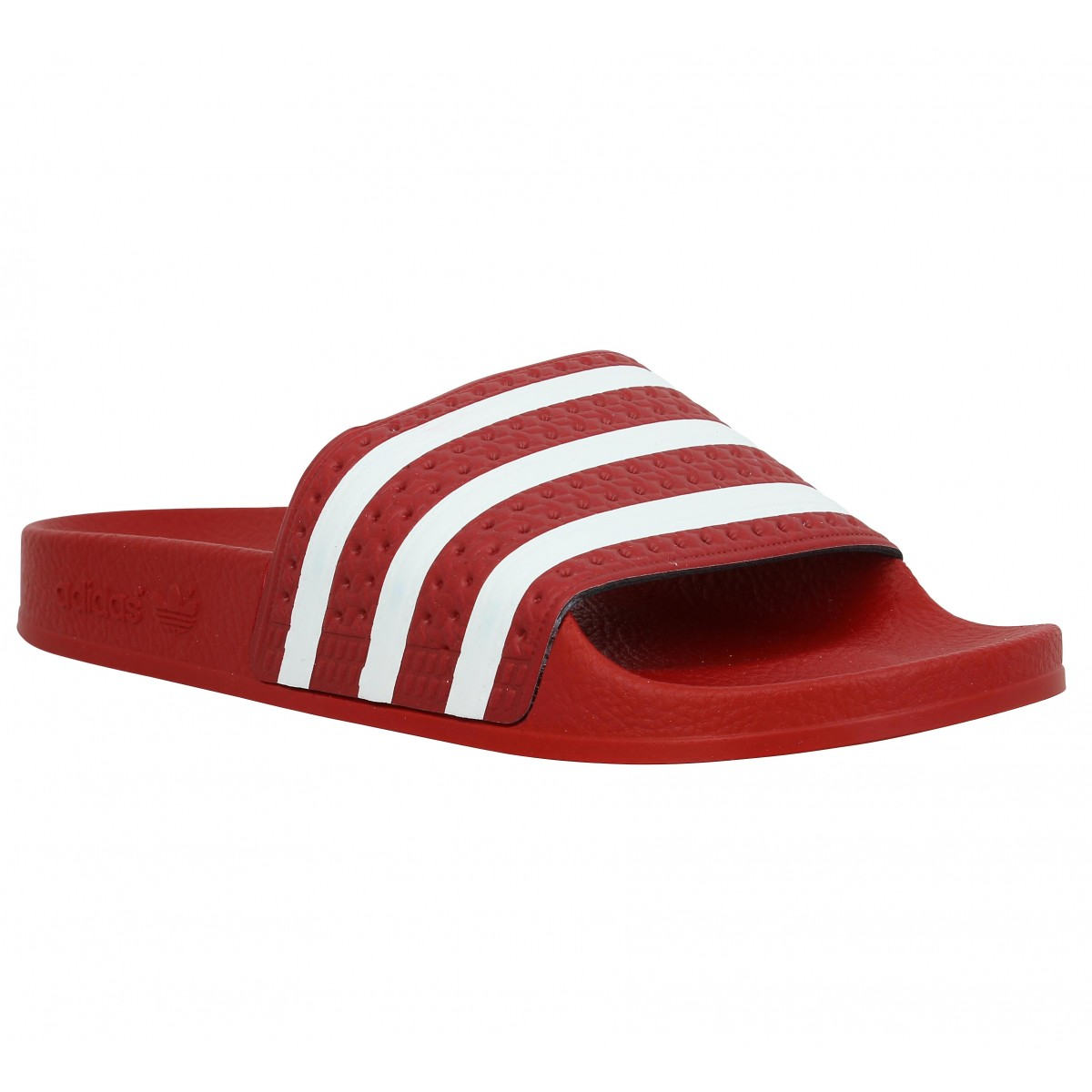 Tongs ADIDAS Adilette Homme Rouge