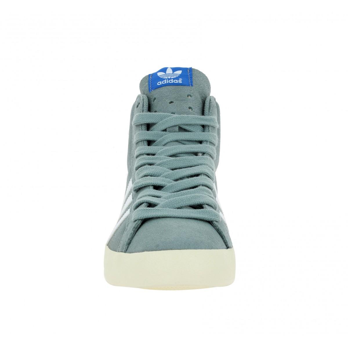 ADIDAS Basket Profi velours Homme Gris   Baskets, Adidas