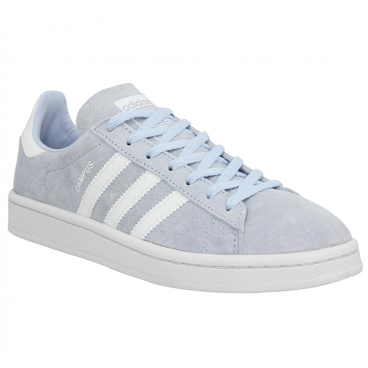 Adidas Femme Campus Velours -36-bleu