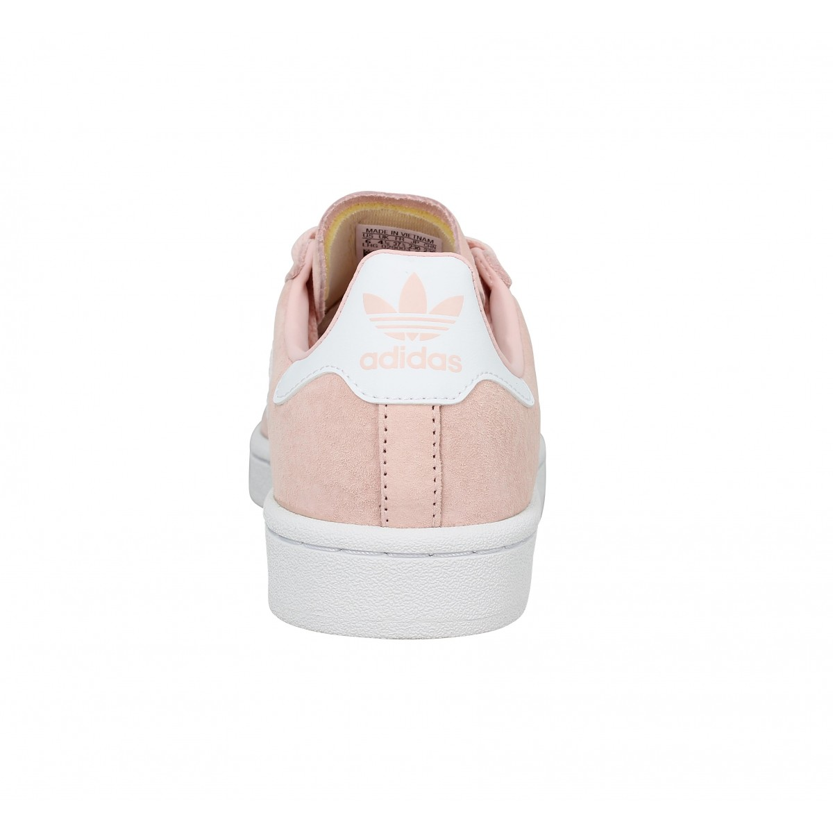 Chaussures Adidas campus velours femme rose femme | Fanny
