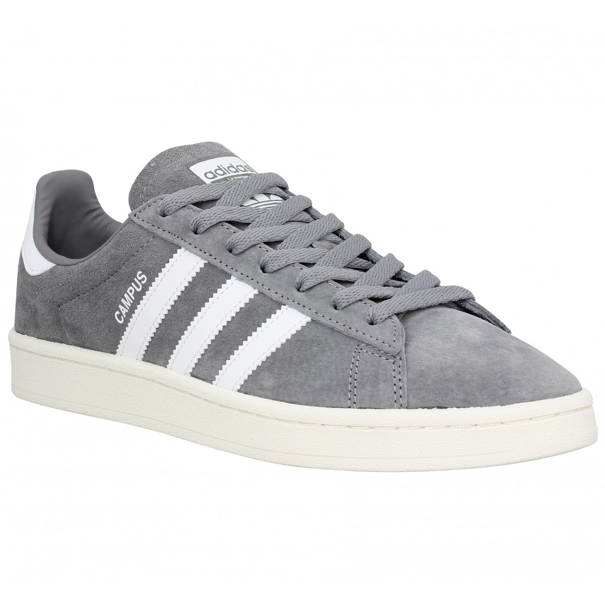 Adidas Homme Campus Velours -39 1/3-gris
