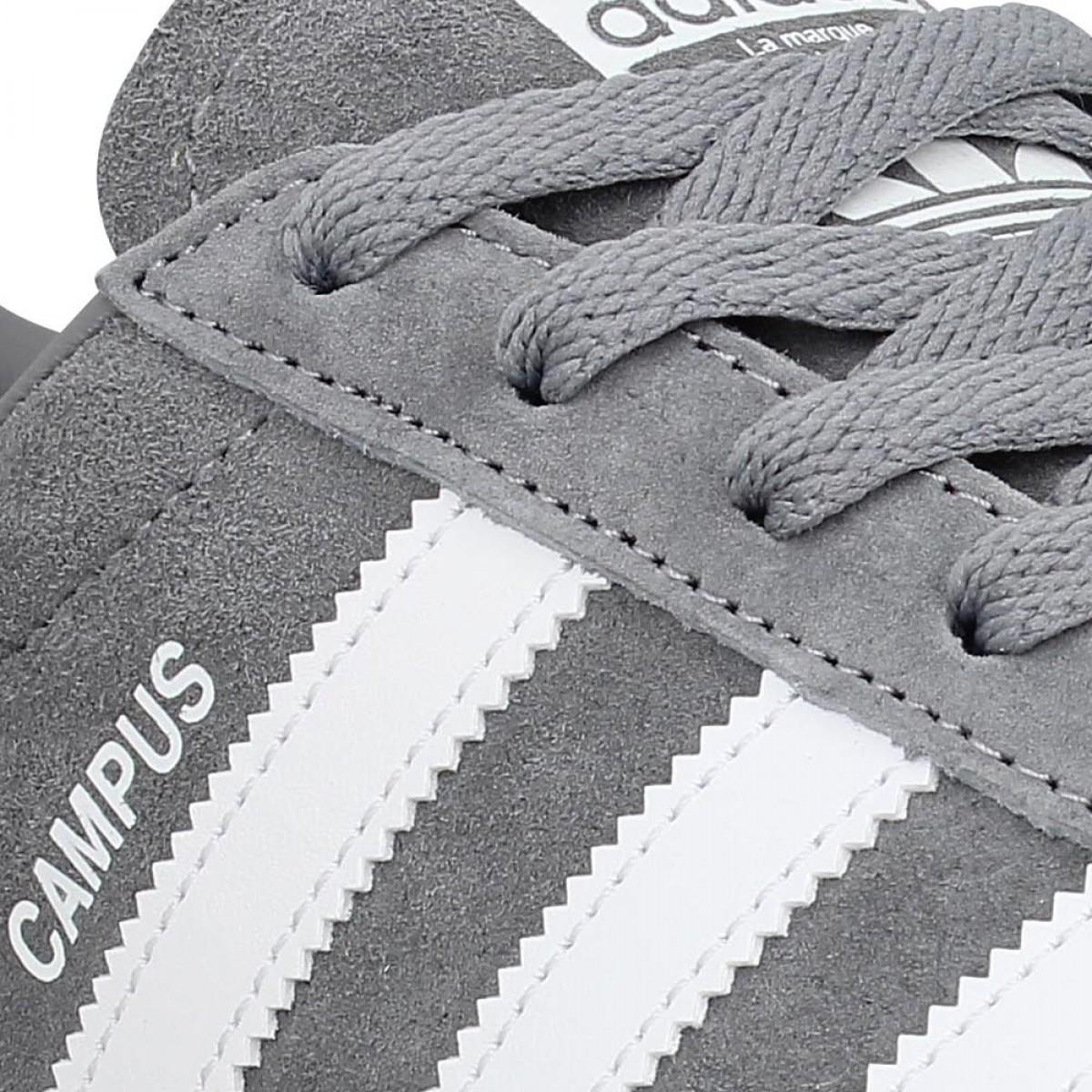 adidas campus gris homme