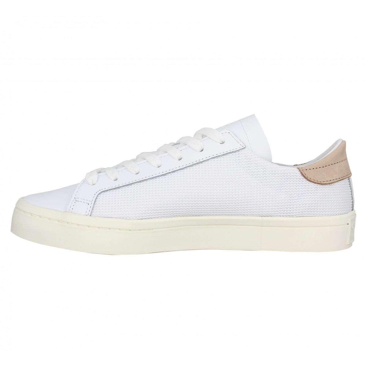 69085a767a5d9 Adidas court vantage toile homme blanc homme | Fanny chaussures