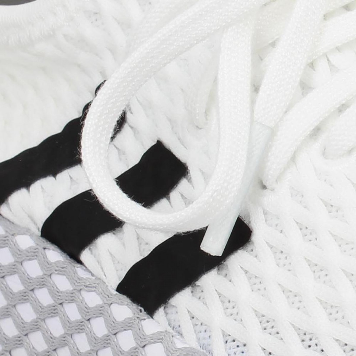 available half price classic fit ADIDAS Deerupt Runner toile Enfant Blanc