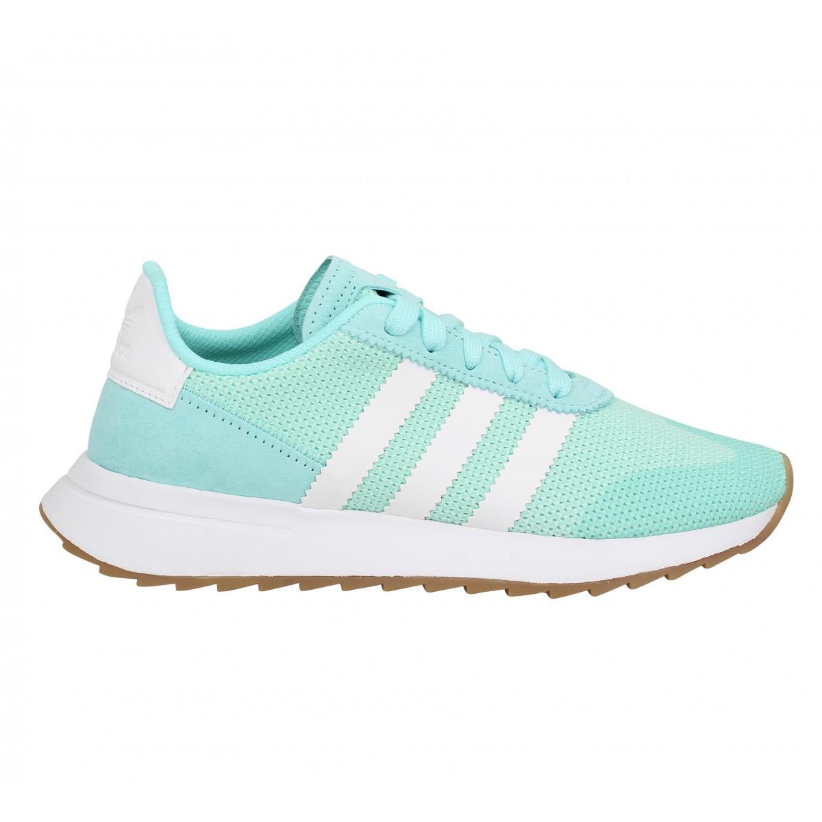 chaussure adidas femme couleur vert