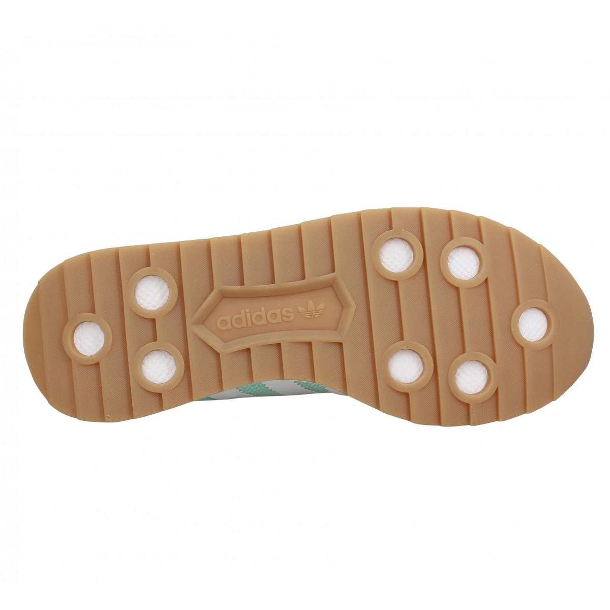 online store f4675 3cec3 Baskets ADIDAS FLB Runner toile Femme Vert. 1