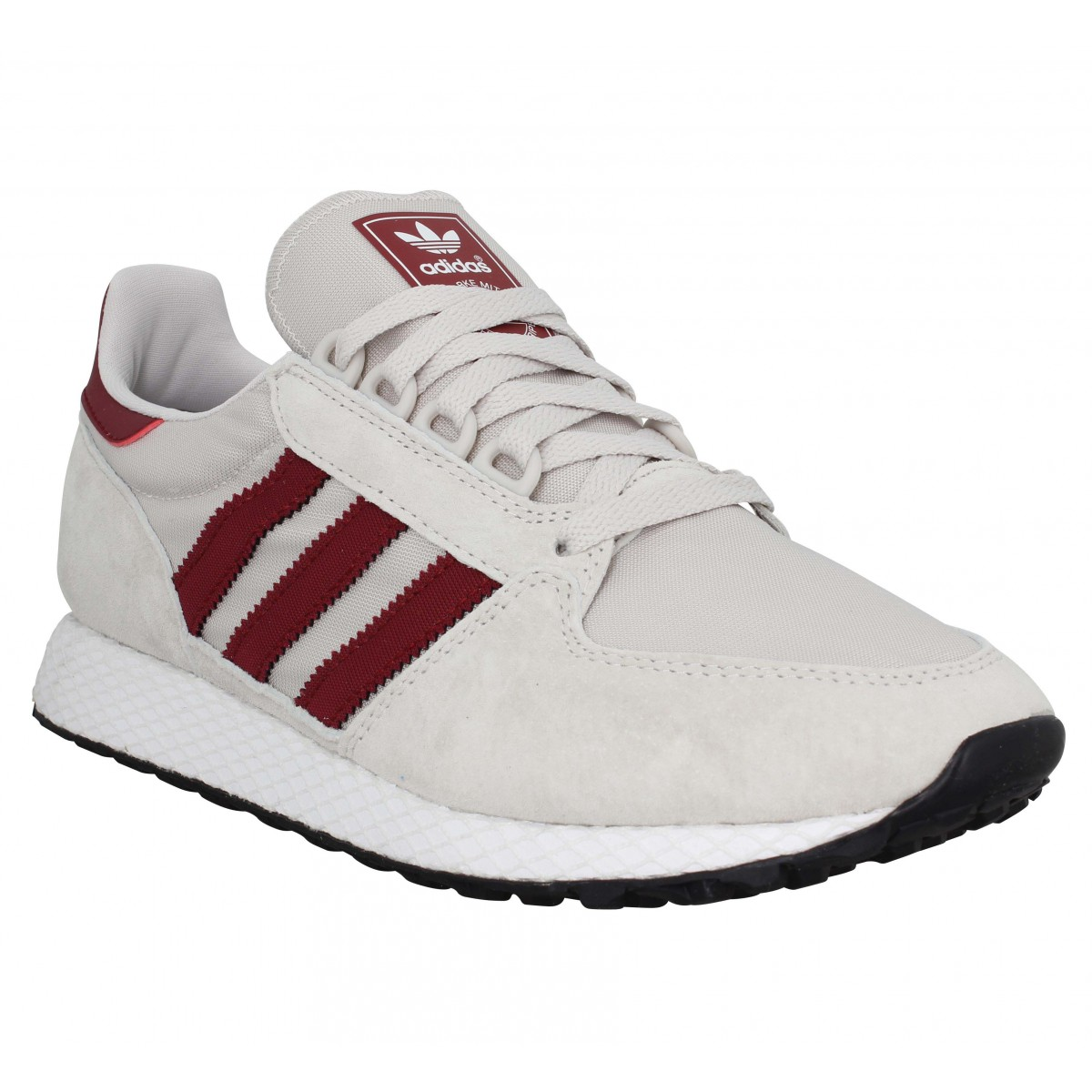 Baskets ADIDAS Forest Grove toile Homme Beige