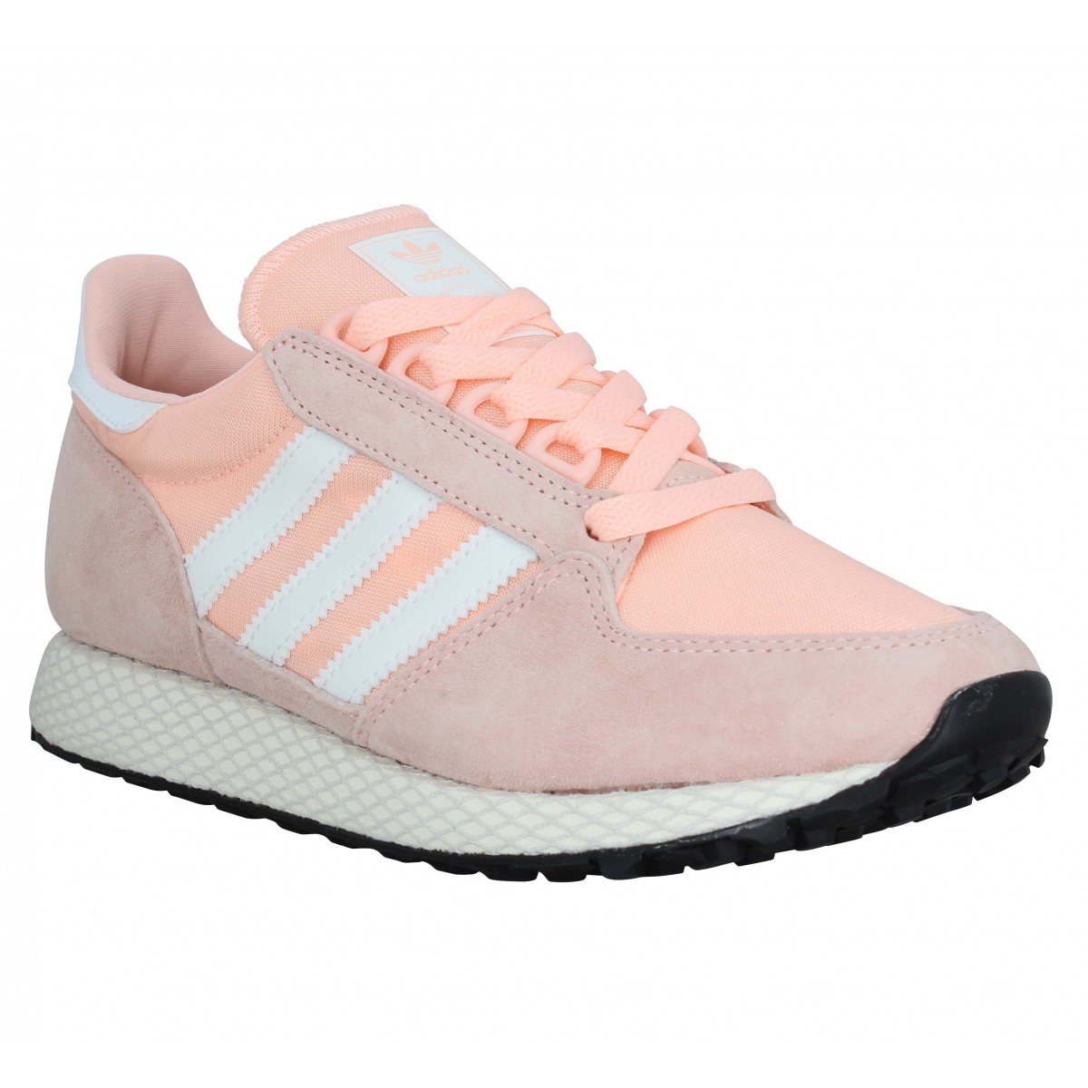 Adidas Femme Forest Grove Velours Toile...