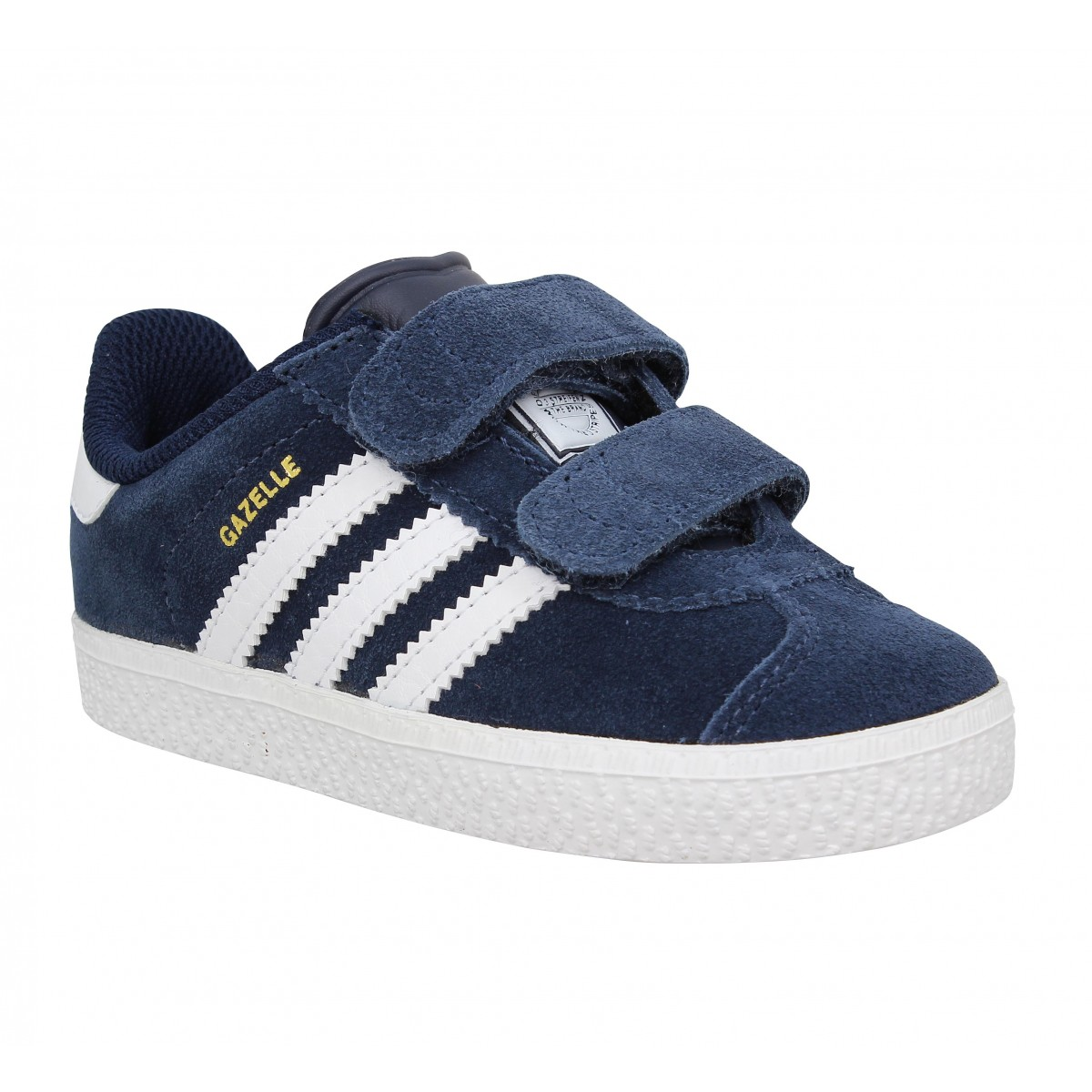 Baskets ADIDAS Gazelle 2 velcro Enfant Navy
