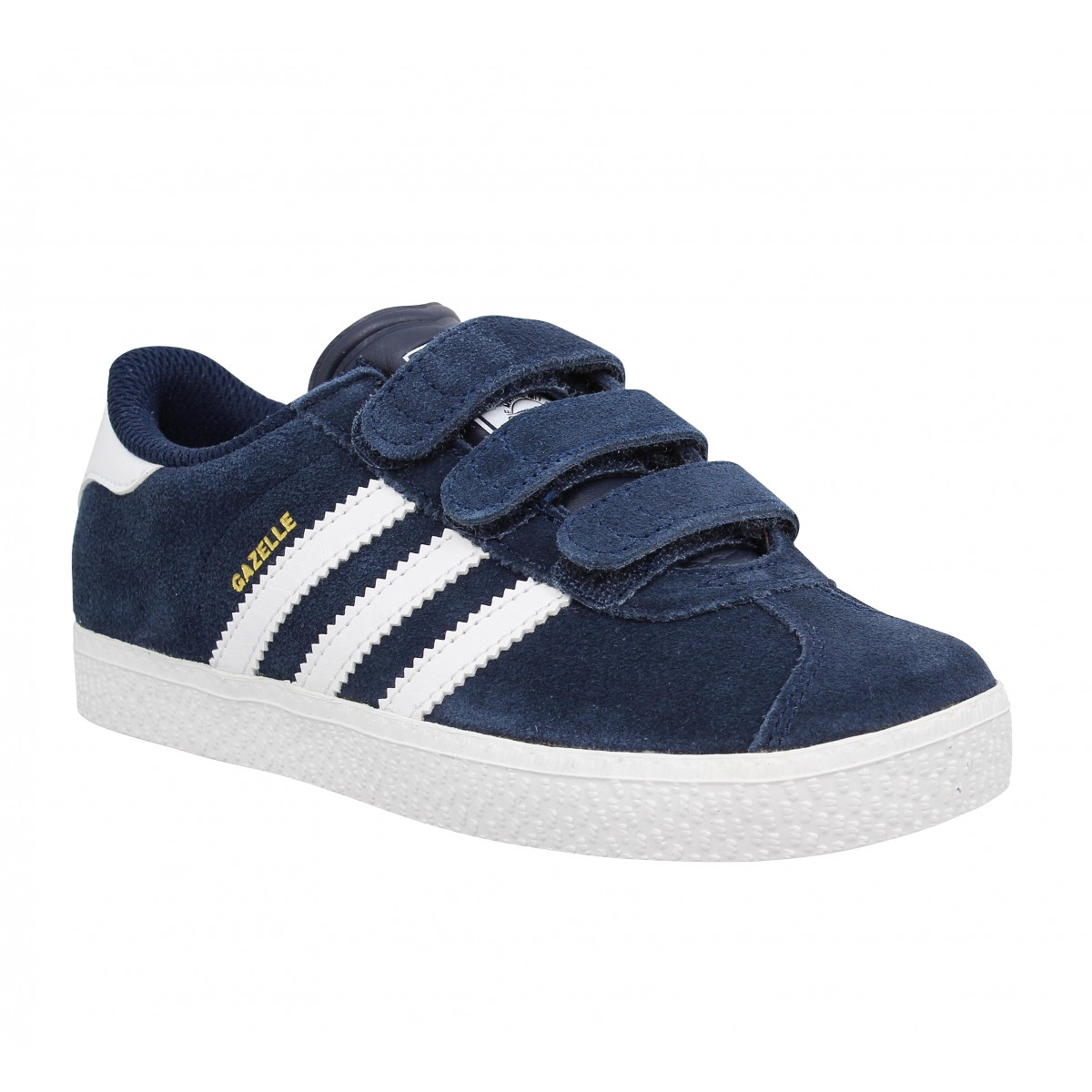 Baskets ADIDAS Gazelle 3 velcro Enfant Navy