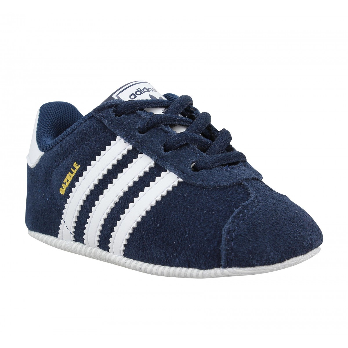 Baskets ADIDAS Gazelle Crib Navy
