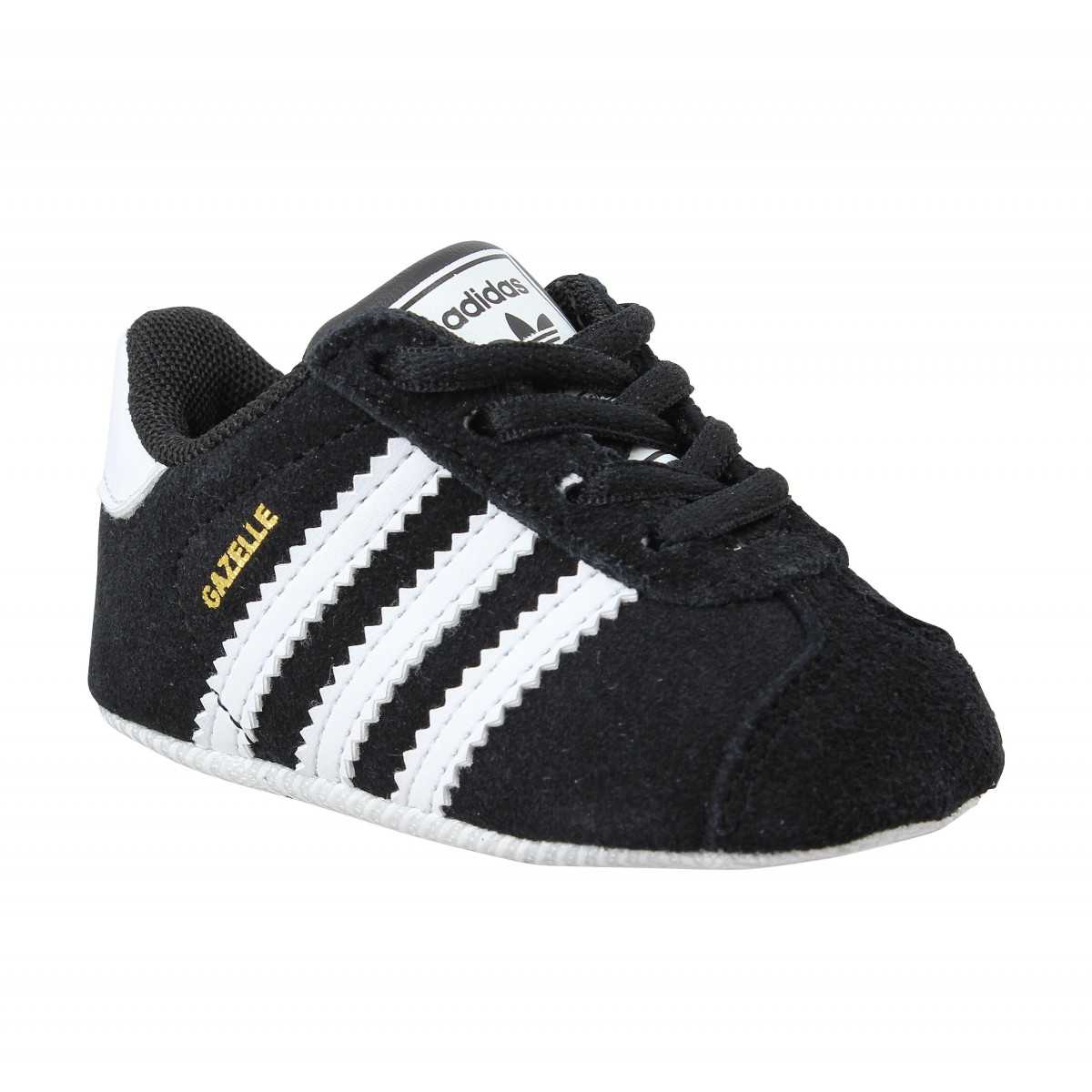Baskets ADIDAS Gazelle Crib Noir