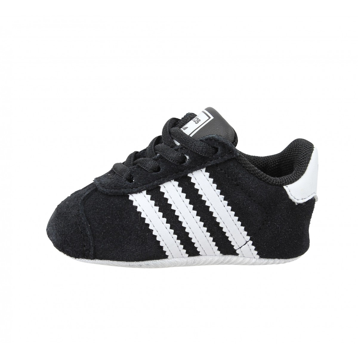 Baskets ADIDAS Gazelle Crib Noir. 1