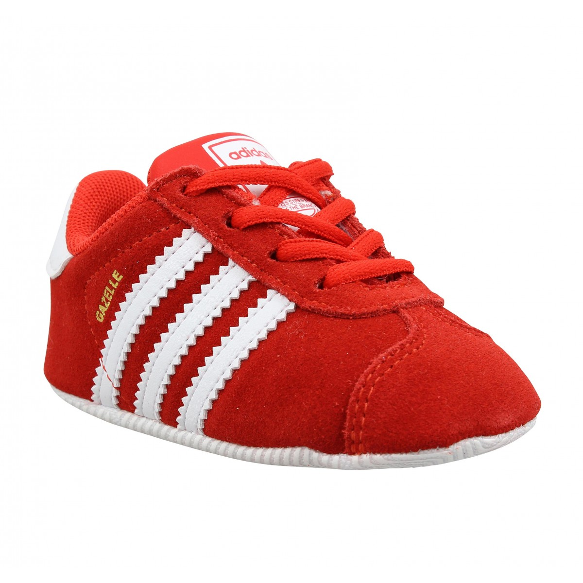 Adidas Enfant Gazelle Crib-17-rouge