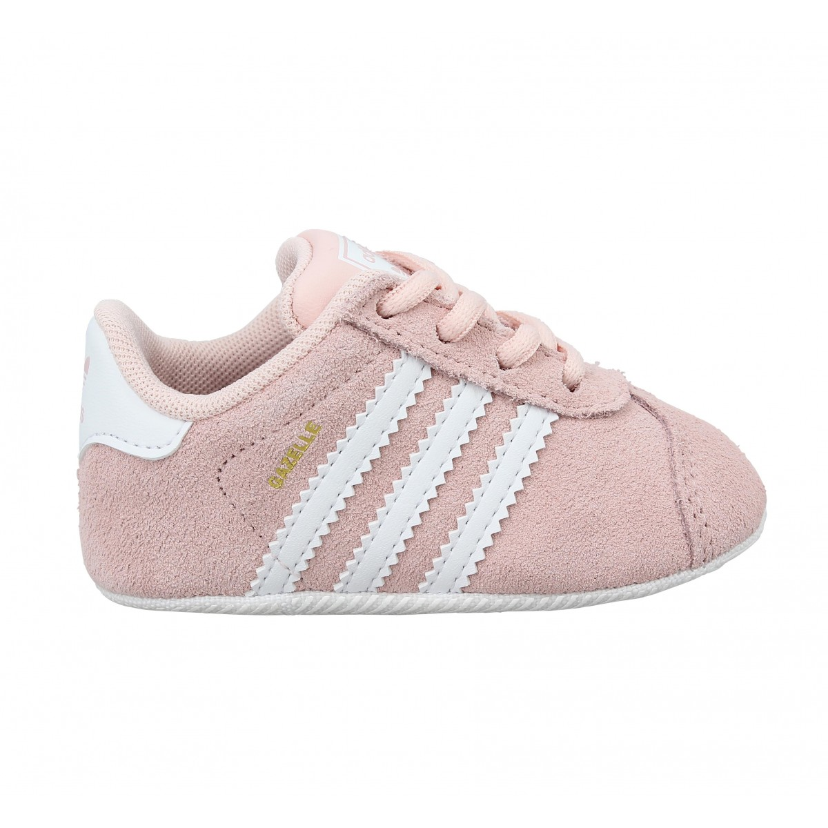 ADIDAS Gazelle Crib velours Enfant Rose