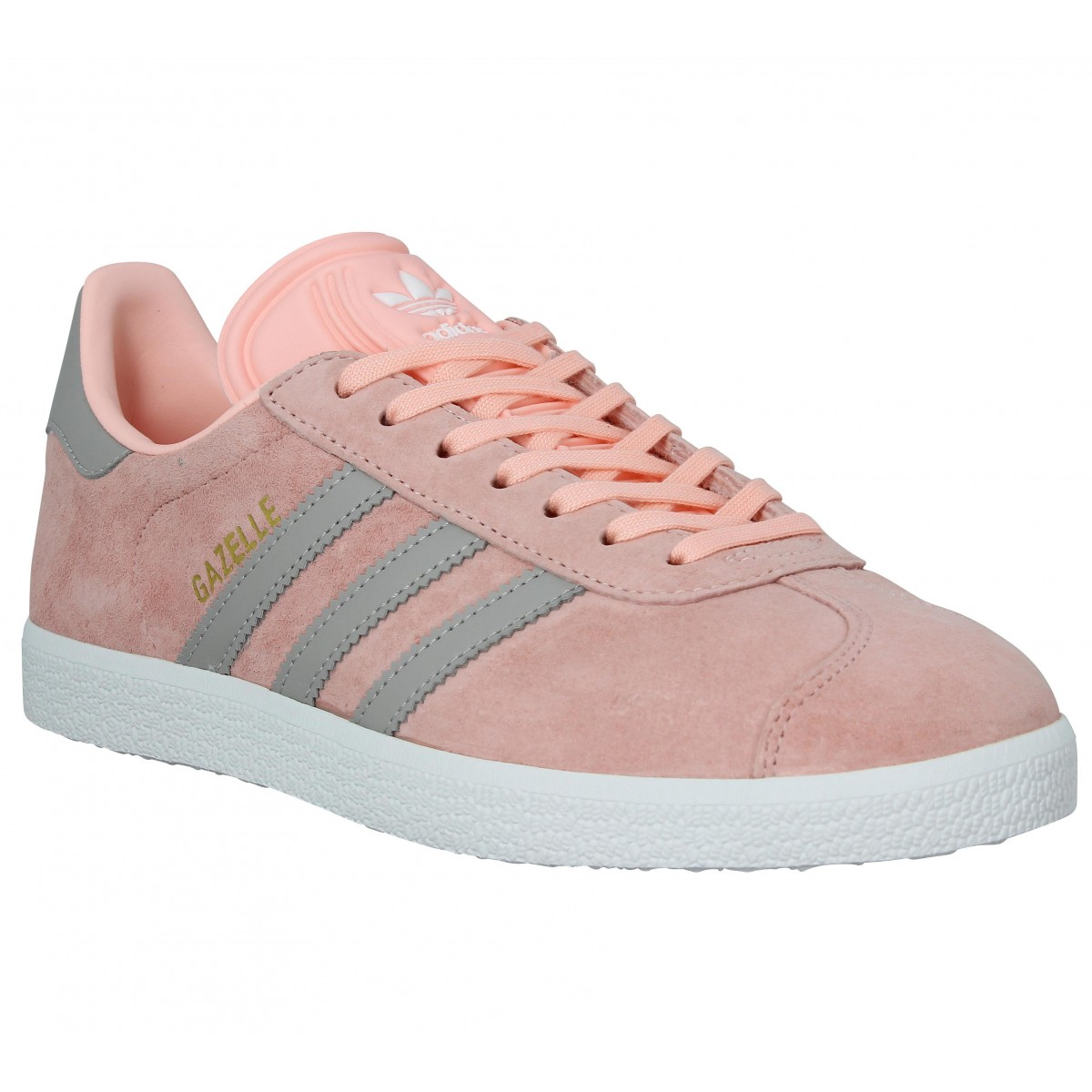 purchase cheap 83756 af799 Baskets ADIDAS Gazelle Femme Coral