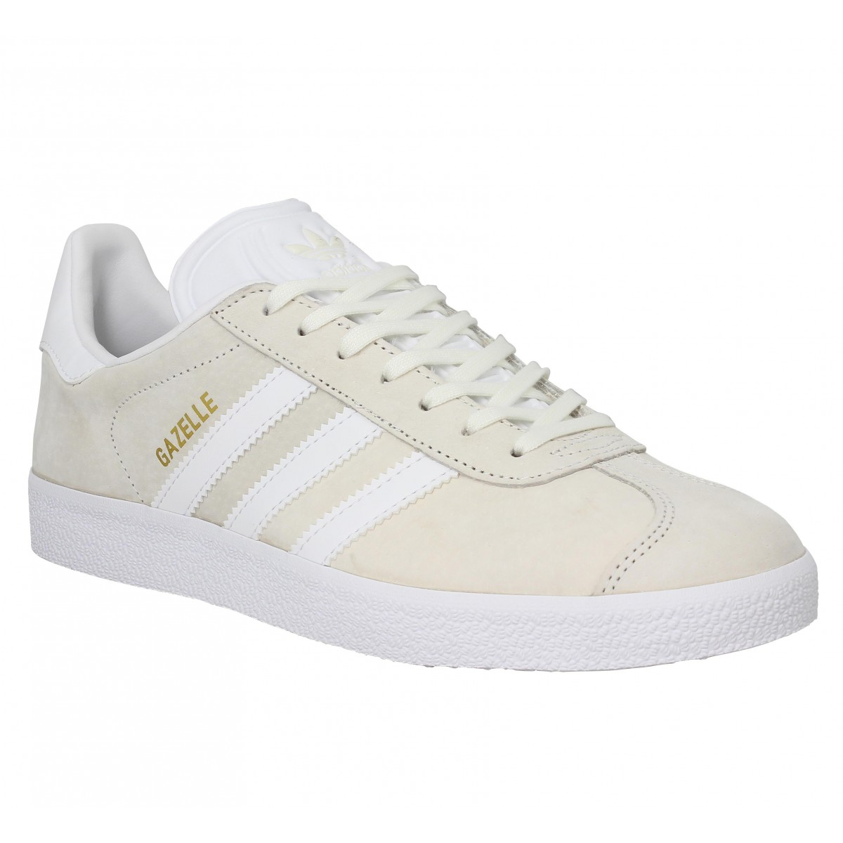 Baskets ADIDAS Gazelle Off White