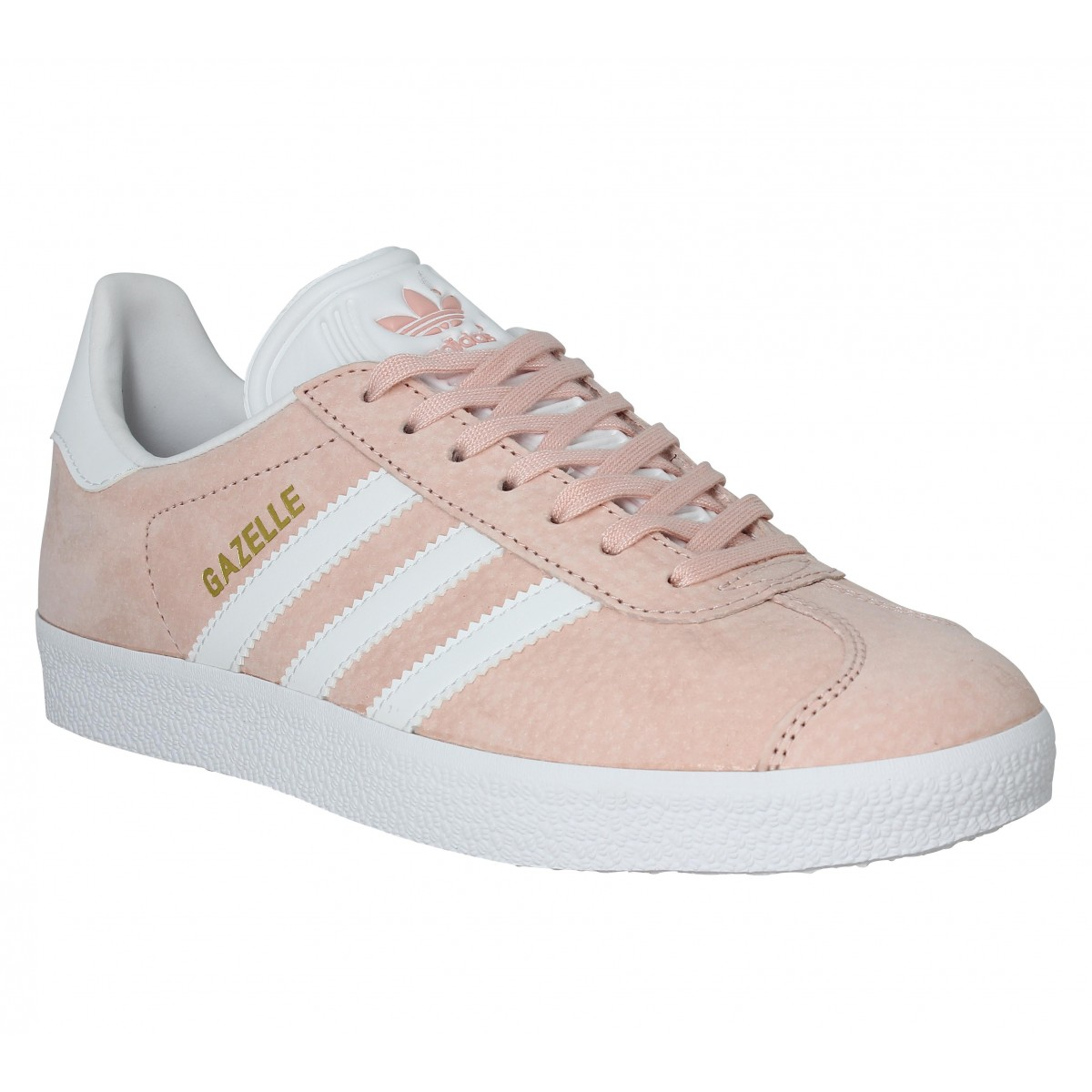sneakers for cheap 9d2cb a9e91 Baskets ADIDAS Gazelle Rose Vapeur