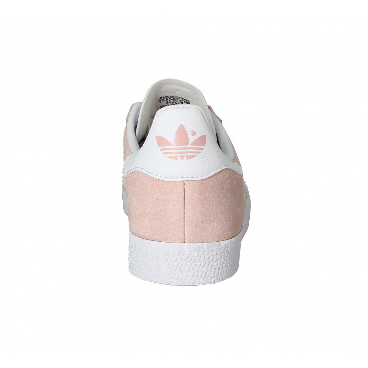 Chaussures Adidas gazelle rose vapeur femme | Fanny chaussures