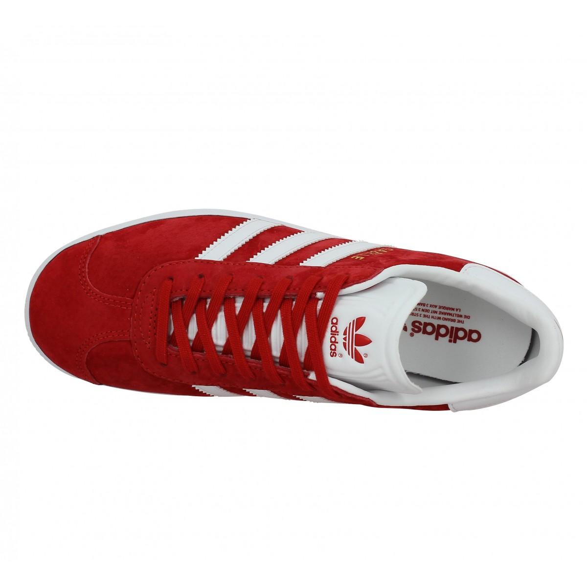 gazelle adidas homme rouge