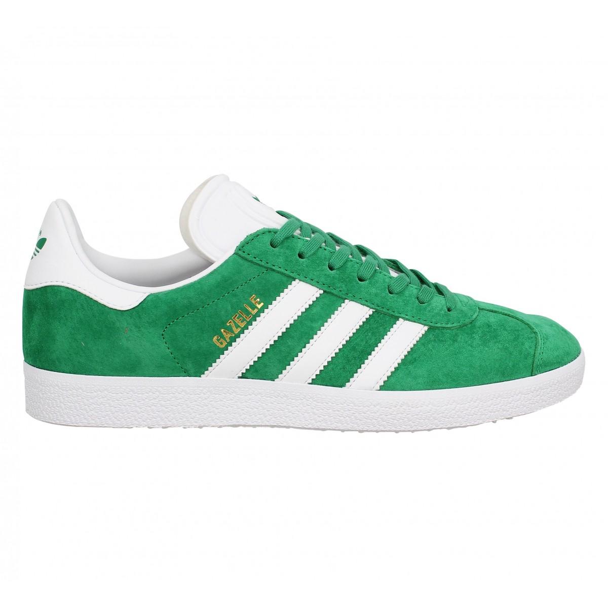 adidas gazelle vert homme pas cher