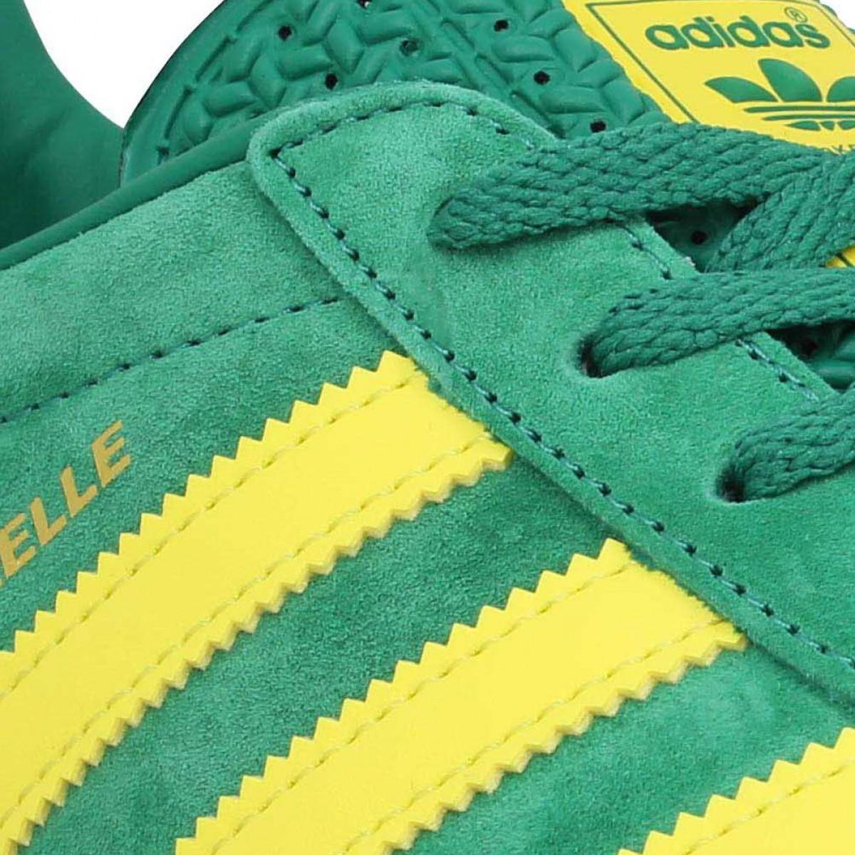 adidas gazelle homme verte