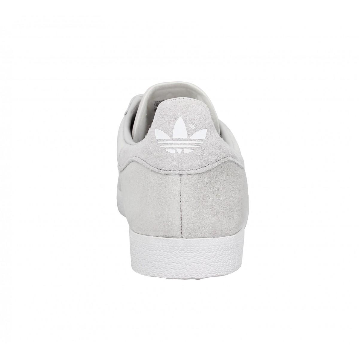 Chaussures Adidas gazelle velours femme grey femme   Fanny chaussures