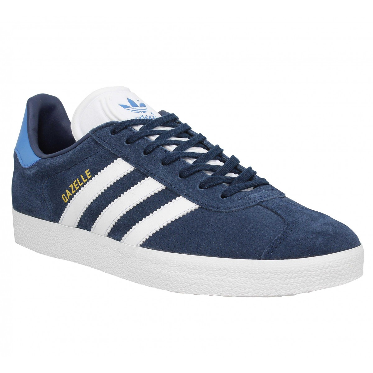 Adidas Homme Gazelle Velours -40-bleu...