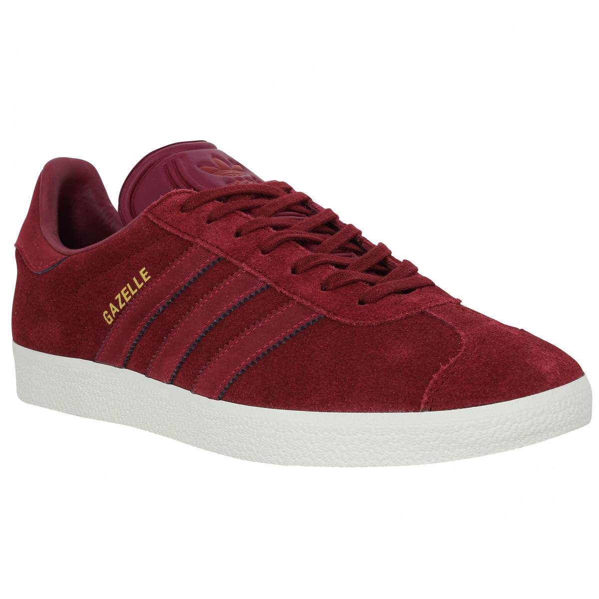 Gazelle Burgundy Sneakers Adidas Men Velours OSxx4qwd