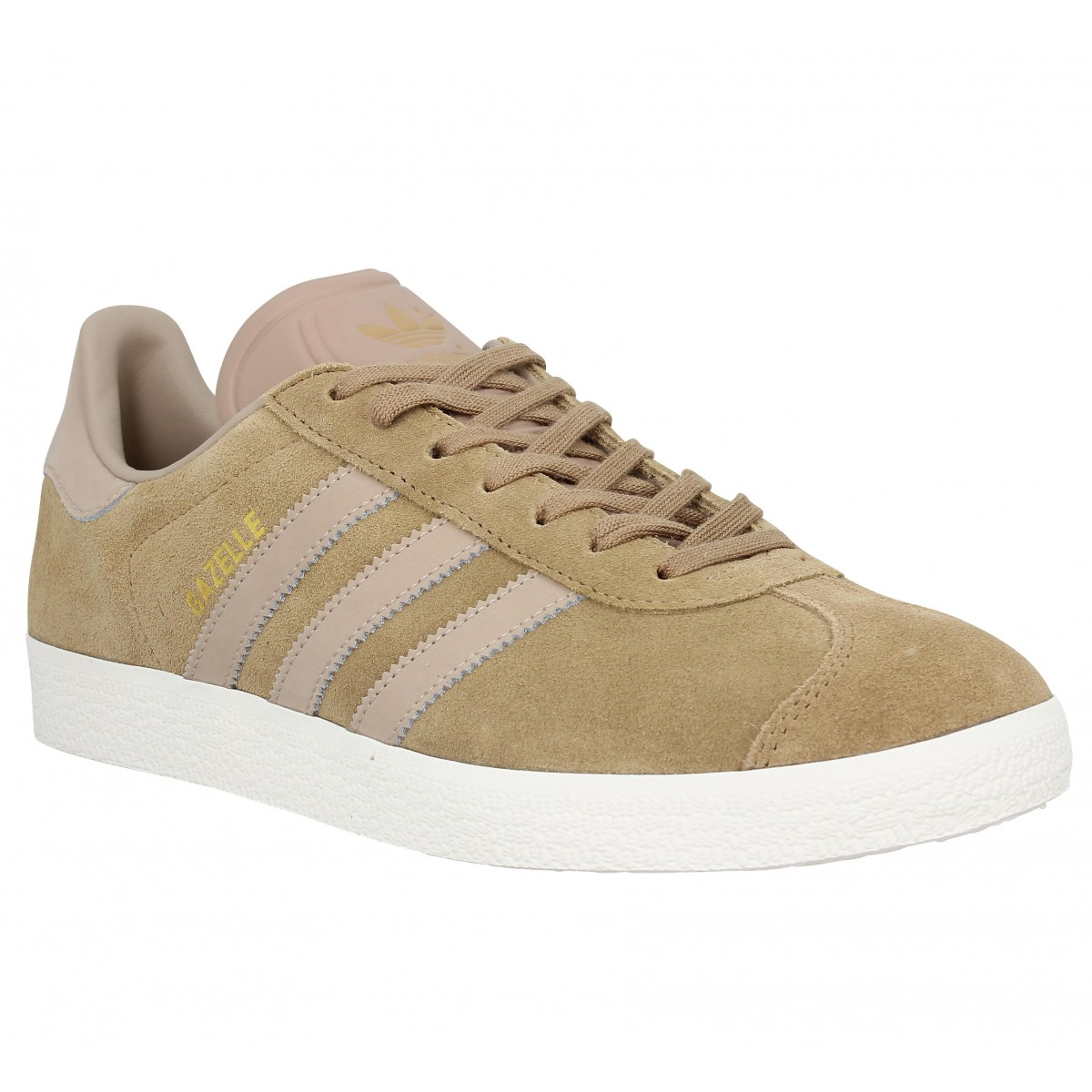 Baskets ADIDAS Gazelle velours Homme Carton