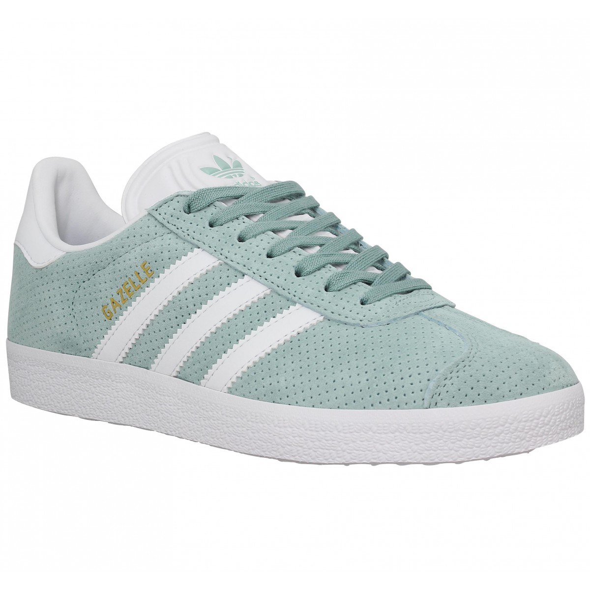 soldes adidas gazelle velours perfo femme vert femme fanny chaussures. Black Bedroom Furniture Sets. Home Design Ideas