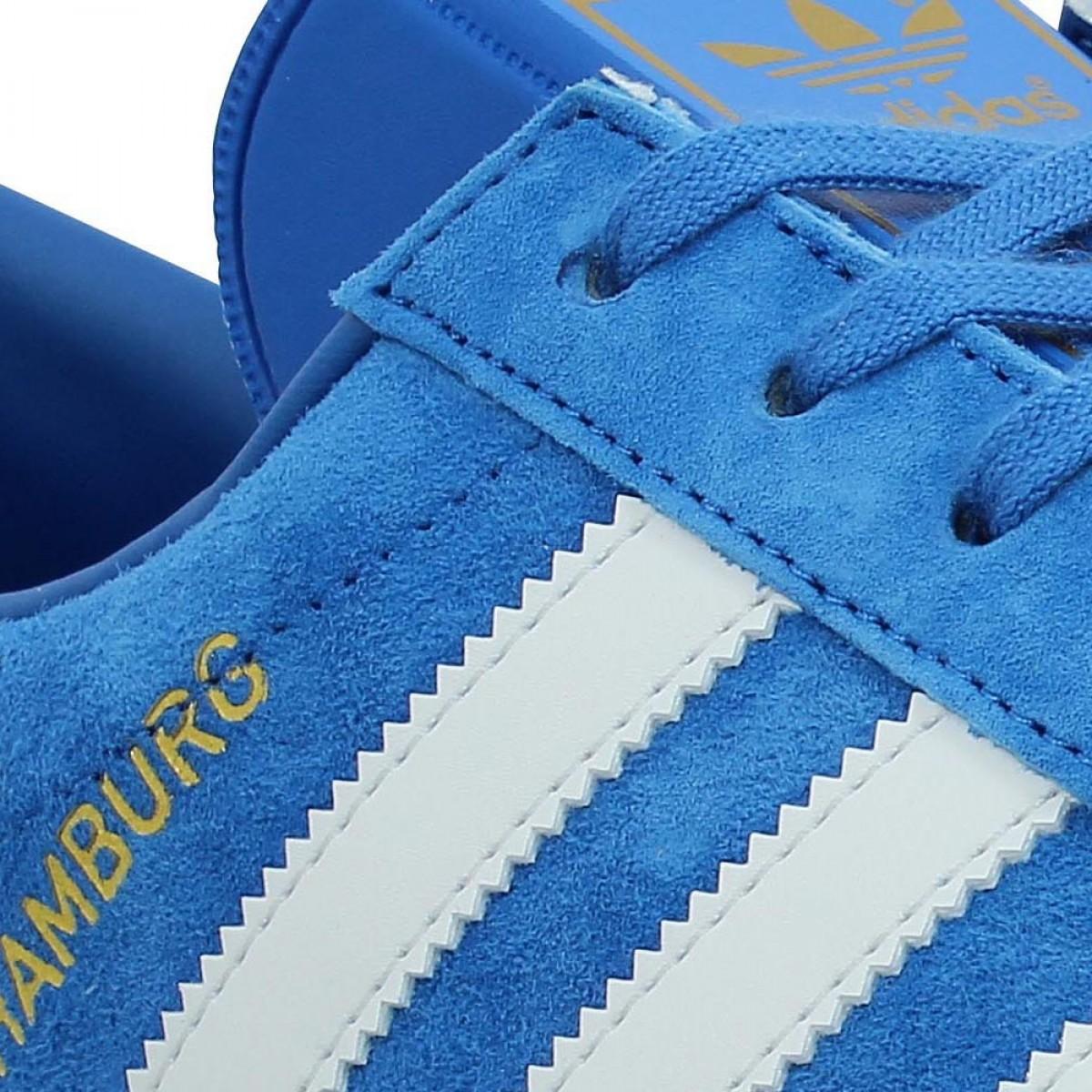 adidas hamburg bleu homme