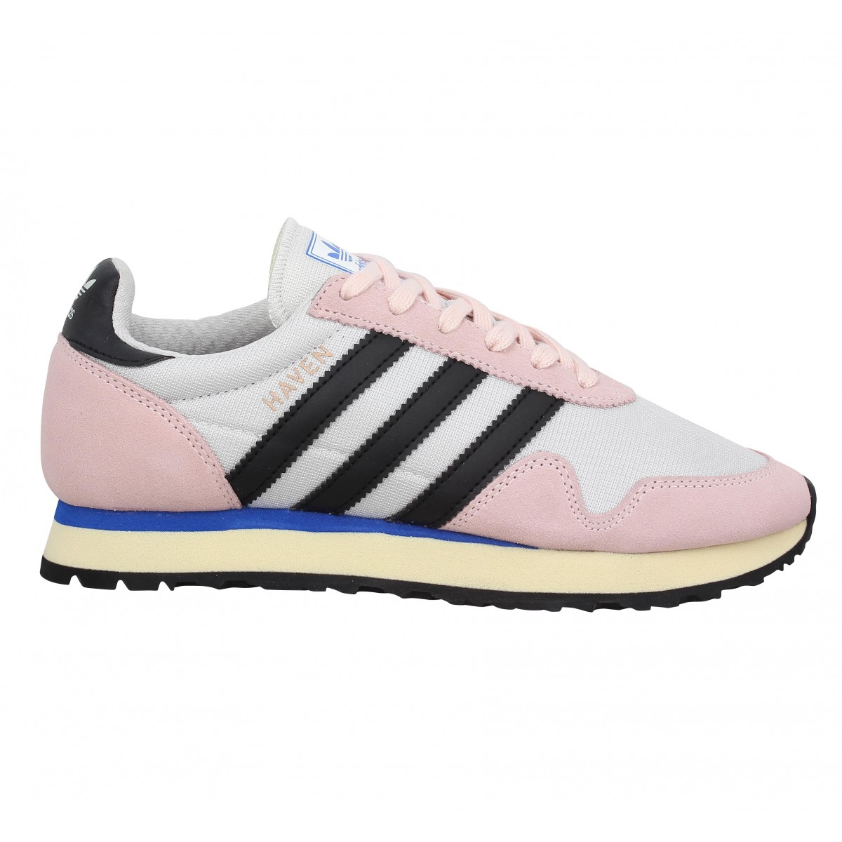 Adidas haven toile femme rose femme | Fanny chaussures