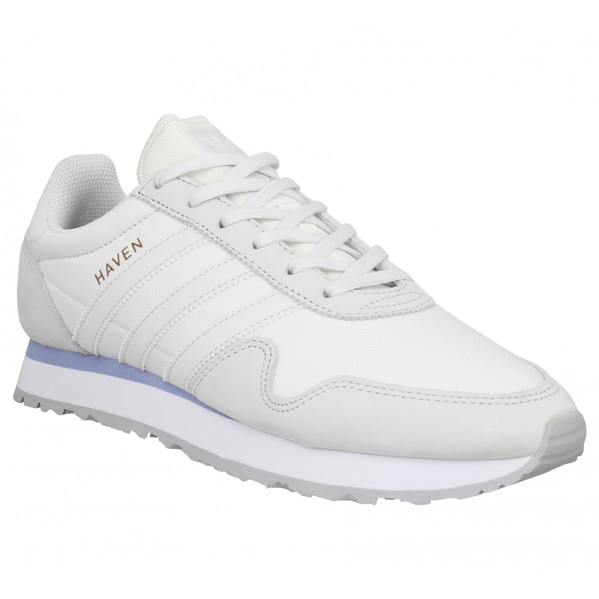 Adidas Marque Haven Toile Homme-40-blanc
