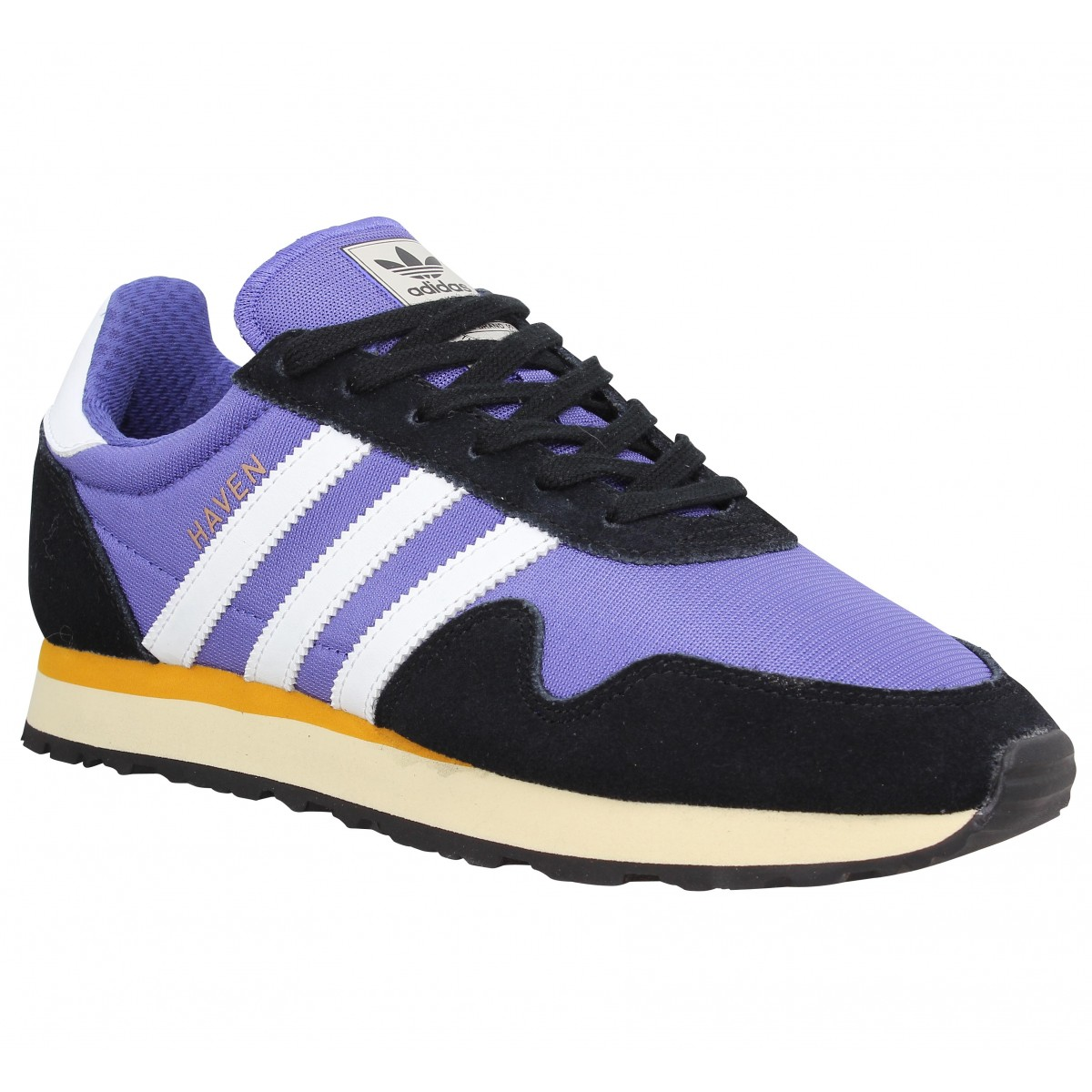 Baskets ADIDAS Haven toile Violet