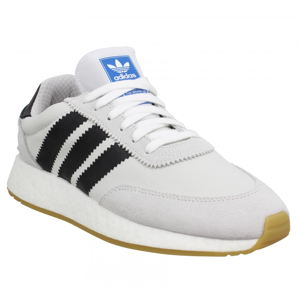 Adidas Homme I-5923 Toile -39 1/3-gris