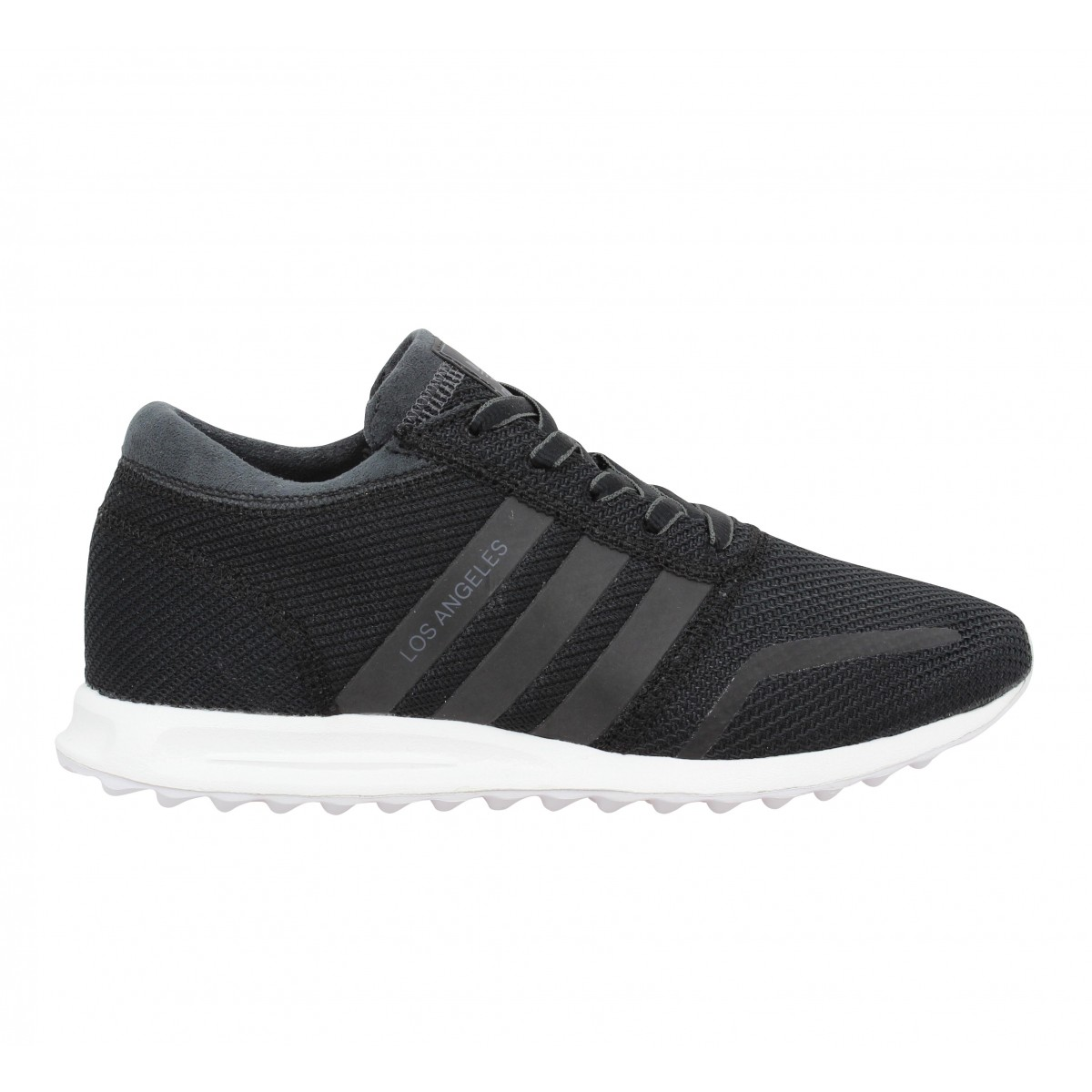 Adidas los angeles toile femme noir | Fanny chaussures
