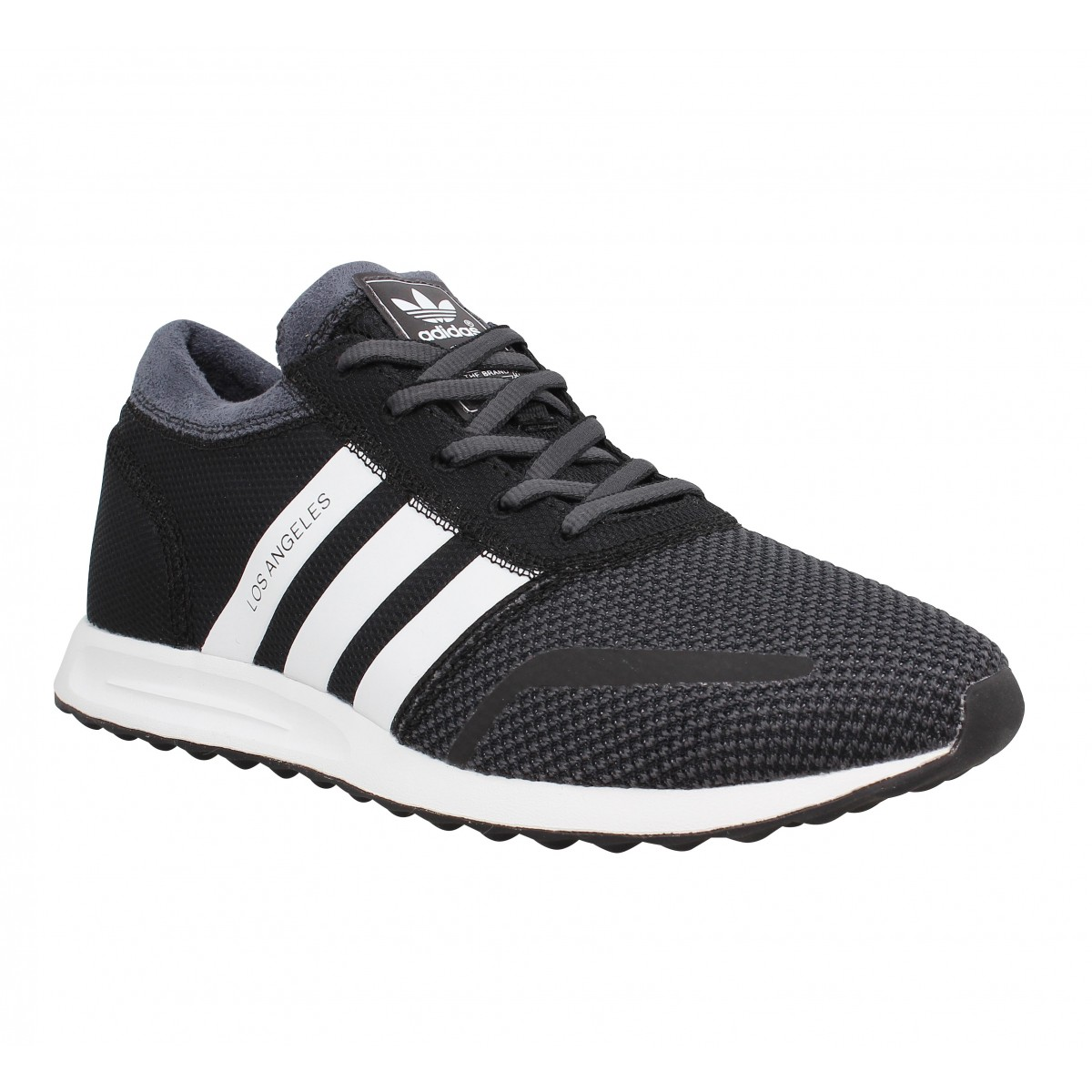 Baskets ADIDAS Los Angeles toile Homme Black