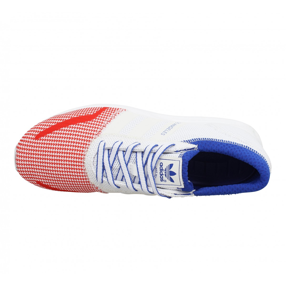 Adidas los angeles toile homme bleu blanc rouge | Fanny chaussures