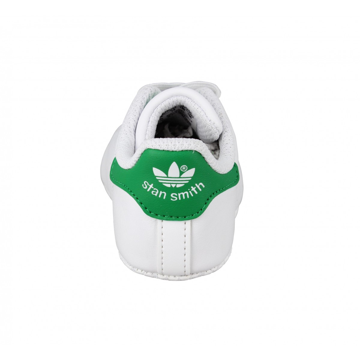 adidas stan smith bebe cuir enfant blanc vert fanny chaussures. Black Bedroom Furniture Sets. Home Design Ideas