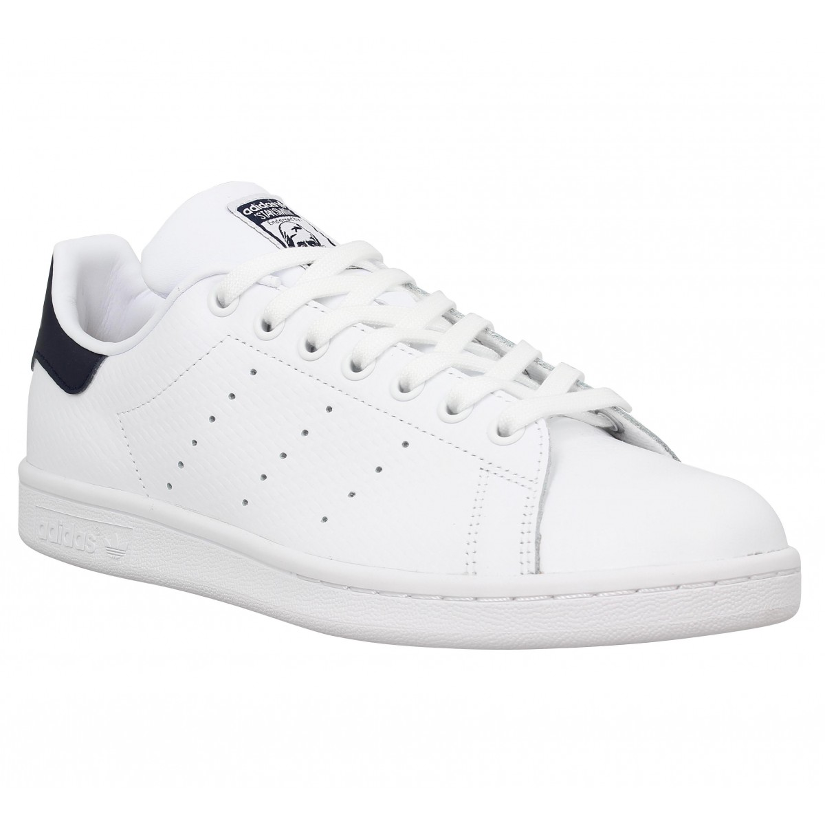 Baskets ADIDAS Stan Smith collegiate Blanc